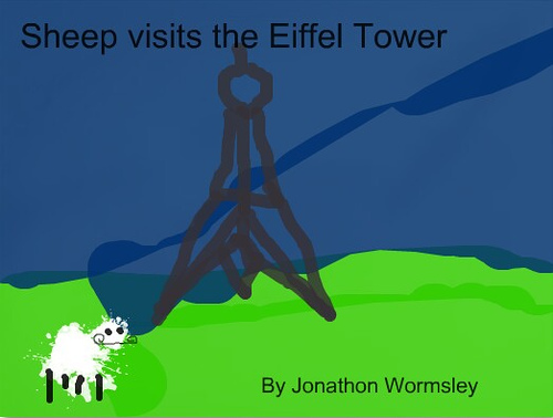 Sheep Visit the Eiffel Tower